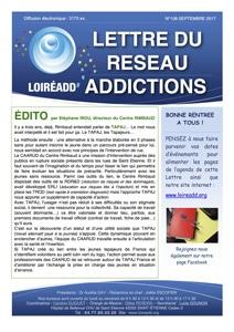 La Lettre du Réseau Addictions N°10