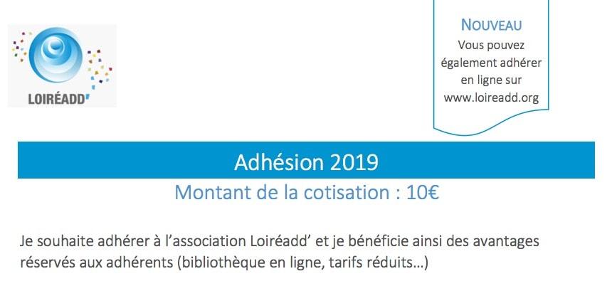 Appel à cotisation 2019