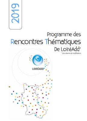 Plaquette des rencontres thématiques 2019 au format pdf