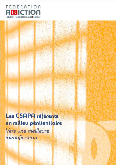 CSAPA référents en milieu pénitentiaire