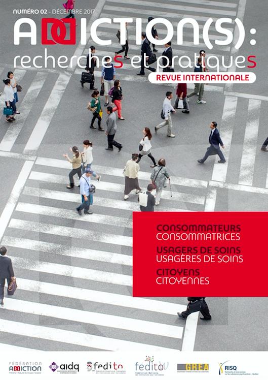 Addiction(s) : recherches et pratiques n°2 – « Consommateurs, usagers de soins, citoyens »