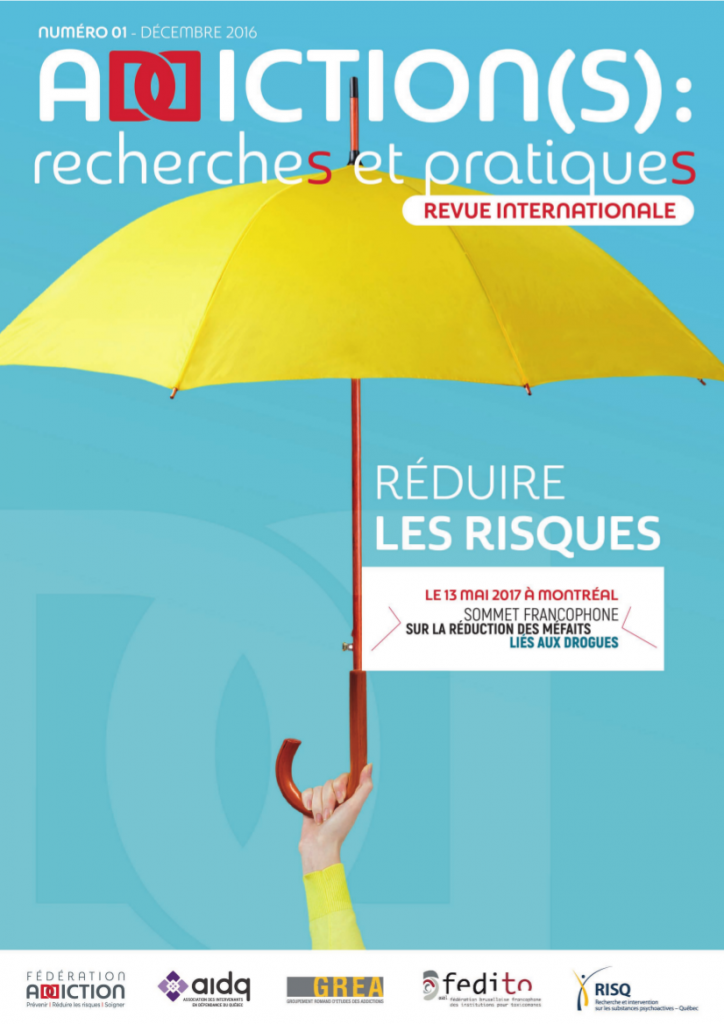 Addiction(s) : recherches et pratiques n°1 – « Réduire les risques »