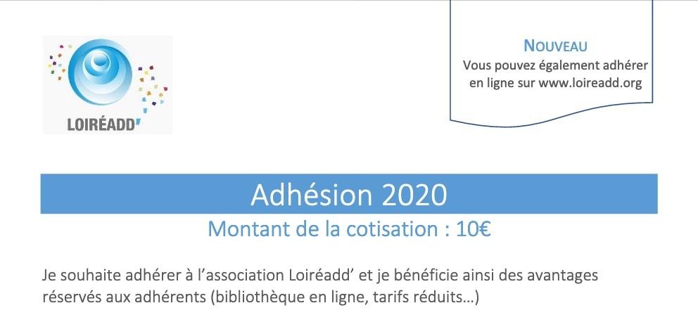 Télécharger le formulaire d'adhésion 2020