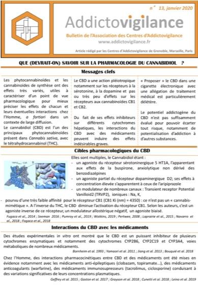 Bulletin Addictovigilance