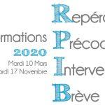 Dernière semaine pour vous inscrire à la prochaine formation RPIB du 10 Mars prochain !