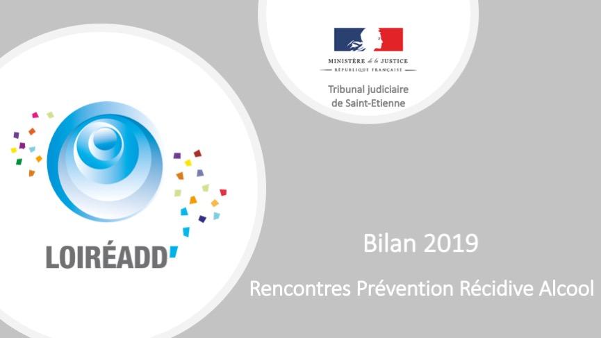Bilan 2019 - Rencontres Prévention Récidive Alcool